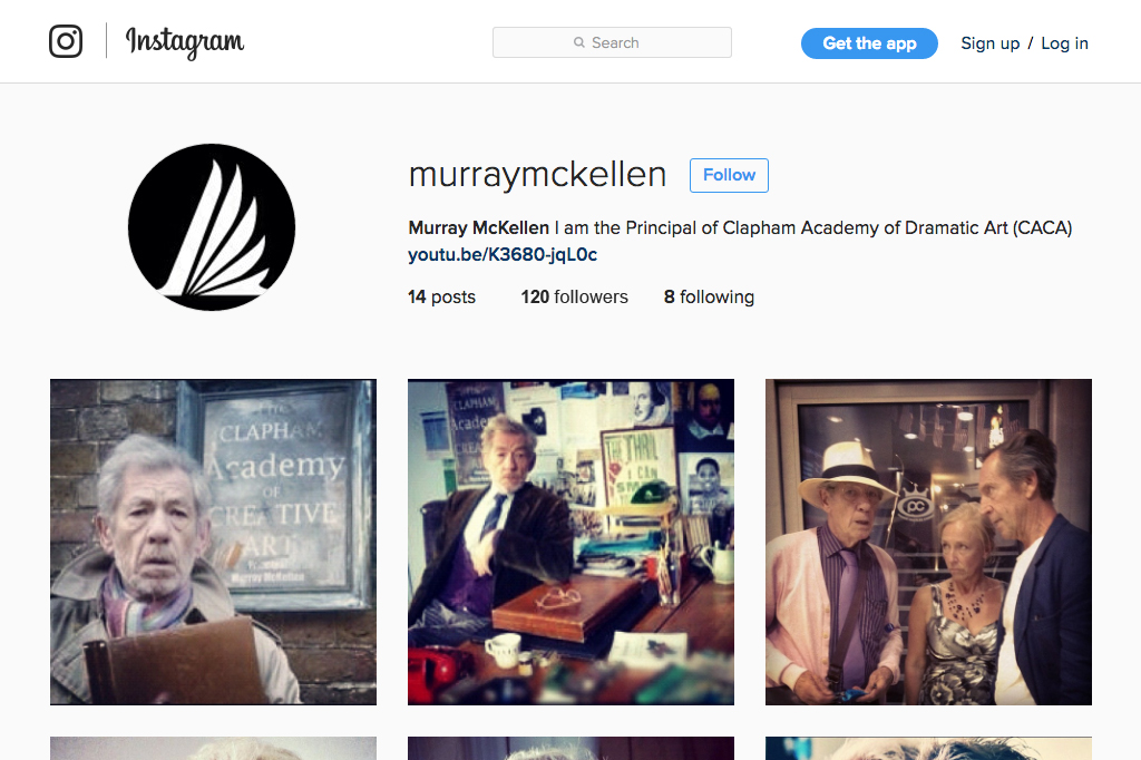 The Academy Instagram Profile