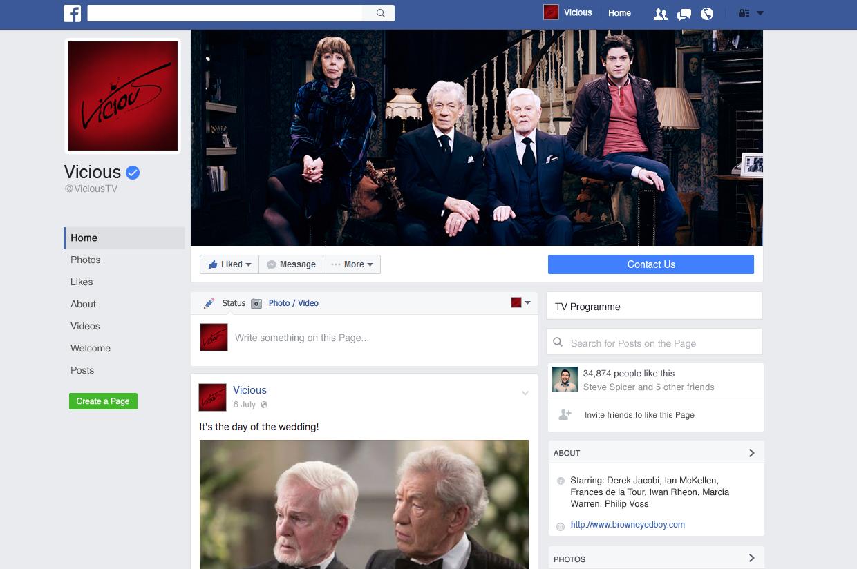 Vicious Facebook Page
