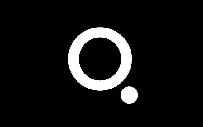 Turquoise Branding 'Q' logo