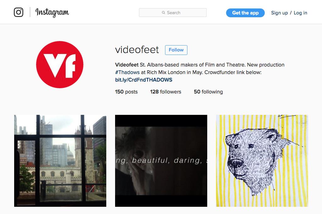 VIDEOfeet Instagram Profile